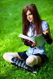 Young schoolgirl Stock Photos