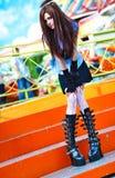 Young schoolgirl Royalty Free Stock Photo