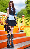 Young schoolgirl Stock Photos