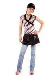 Young schoolgirl Stock Images