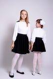 Young schoolgirls Stock Image