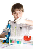 The young scientist stock photo