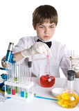 The young scientist Royalty Free Stock Photos