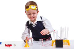 Young scientist Royalty Free Stock Images