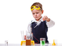 Young scientist Royalty Free Stock Photo