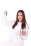 Young scientist at lab Stock Photo