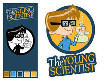 The Young Scientist. Royalty Free Stock Images