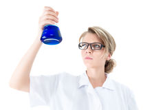 Young scientist Stock Image