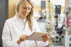 Young scientist working in laboratory Stock Photos