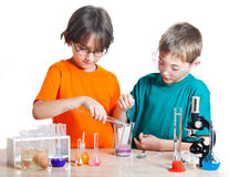 Young scientists Stock Photography