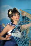 Young seaman Royalty Free Stock Photography