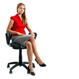 Young secretary Stock Photo