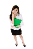 Young secretary of Asian Stock Images