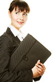 Young secretary taking notes Royalty Free Stock Photography