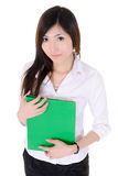 Young secretary woman Royalty Free Stock Photo