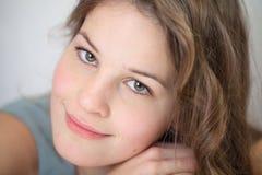 Young sensitive woman Stock Photo