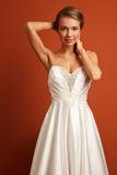 Young sensual bride Royalty Free Stock Image