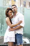 Young sensual couple stock images