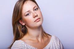 Young sensual woman Stock Photos