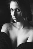 Young sensual woman Stock Photography