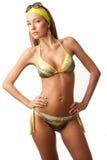 Young sensual woman in bikini Royalty Free Stock Photos