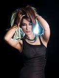 Young sensual woman. Sensual young woman looking at camera Royalty Free Stock Images