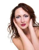 Young sensuality beautiful woman Stock Photography
