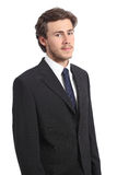 Young serious business man portrait Royalty Free Stock Photography