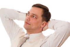 Young Serious Businessman Stock Image