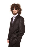 Young serious businessman Royalty Free Stock Photos