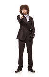 Young serious businessman Royalty Free Stock Photography