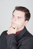 Young serious man Royalty Free Stock Photography