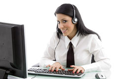 Young service provider Royalty Free Stock Photo
