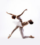 Young and sexy ballet couple dancing Stock Photos