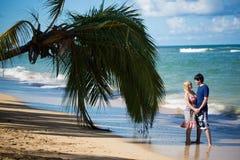 Young blonde woman and man at romantic date at vacation. Young blonde women and men at romantic date at vacation stock image
