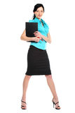 Young sexy business woman. Stock Image