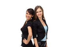 Young and sexy business women Stock Photography