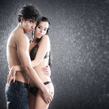 Young sexy couple Stock Photos