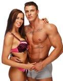 Young sexy couple Stock Photos