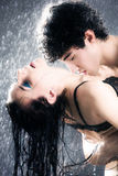 Young sexy couple passion Royalty Free Stock Images