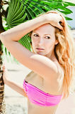 Young female model Royalty Free Stock Photo