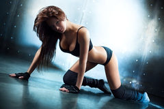 Young sexy fitness woman Stock Image