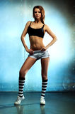 Young sexy fitness woman Stock Photography