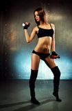 Young sexy fitness woman Stock Photos