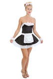 Young sexy maid Stock Images