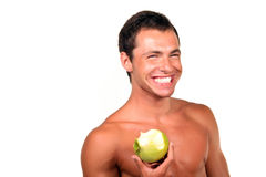 Young sexy man Stock Photography