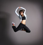 Young and sexy modern dancer Stock Photography