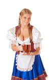 Young sexy Oktoberfest woman Royalty Free Stock Photo