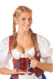 Young sexy Oktoberfest woman Stock Image