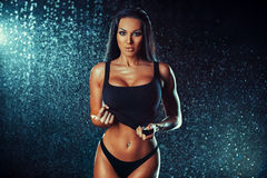 Young sexy woman Stock Photography
